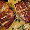 استیک مرغ با پنیر